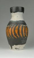 0R118 Gorka Lívia kerámia díszváza 18 cm