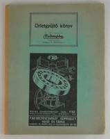 0T224 Malomipari Őrletgyűjtő könyv 1942