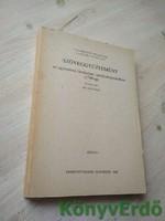 Polányi Imre (szerk.): Szöveggyűjtemény az egyetemes történelem tanulmányozásához (1789-ig)
