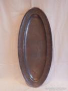 Art Kruse Berndorf ezüstözött alpakka húsos tálat 63,5 cm