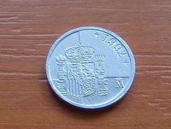 SPANYOL 1 PESETA 1992   KICSI