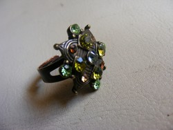 Állítható köves gyűrű