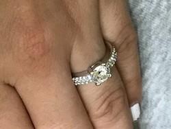 Swarovski Hattyu jeles 55-ös kristály gyűrű