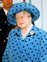 Bowes-Lyon Erzsébet brit királyné II. Erzsébet ÉDESANYJA JELZETT KÉP SYGMA SAJTÓ FOTÓ LONDON 1997