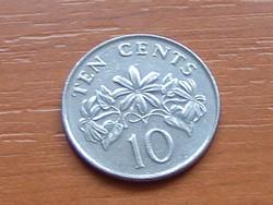 SZINGAPÚR SINGAPORE 10 CENT 2007