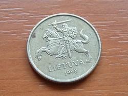 LITVÁNIA 20 CENTU 1998