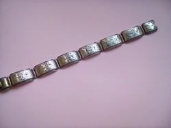 Antik szépséges ezüst karkötő