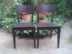 Fa fekete székek Újak !