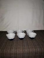 Zsolnay pompadur kávés csészék + 1