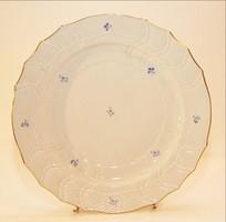 Porcelán dísz tál 32 cm bársony dobozában