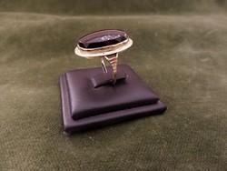 Ónixos arany gyűrű