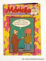 2001 február 1  /  Móricka  /  SZÜLETÉSNAPRA RÉGI EREDETI ÚJSÁG Szs.:  7510