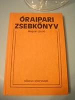 U12 Óraipari szak zsebkönyv ritkaság gyártói típus jelekkel 319 oldalon