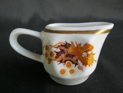 Zsolnay porcelán tejszín kiöntő