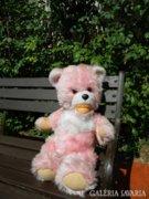Ritka nagy retro rózsaszín maci - mackó
