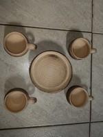 Kávés porcelán készlet