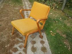 Különleges karfás ritka fotel / NDK fotel / Bauhaus stílusú fotel / retro fotel a 60-as évekből