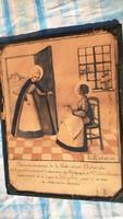 Nagyon régi vallásos témájú kép. Belga