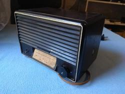 Telefunken bakelit csöves rádió