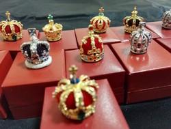 Királyi koronaékszerek Mini korona gyüjtemény LOT