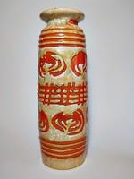 Rákos  iparművész kerámia váza