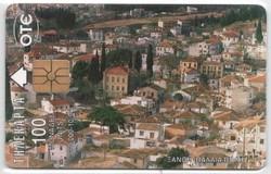 Külföldi telefonkártya 0341 (Görög)