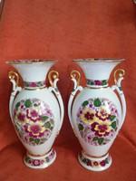 Régi orosz porcelán váza páros