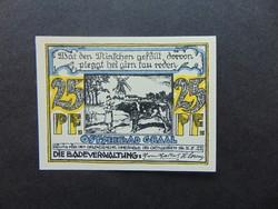 25 pfennig 1922 Németország