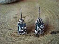 Gyönyörű ezüst fülbevaló