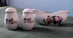 Royal Norfolk porcelán sótartó és szószos (kiöntő)