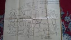 Rendőrségi térkép 194? évekből IV.kerület.