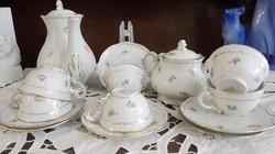 Zsolnay barokk kávés kszlet
