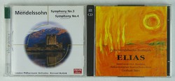 0T469 Felix Mendelssohn Bartholdy CD 3 db
