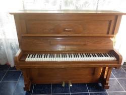 német zimmermann pianínó