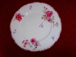 Antik virág mintás   tányér 23 cm