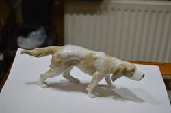 Német porcelán kutya