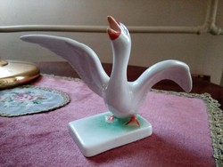 Herendi porcelán lúd