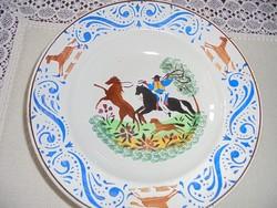Wilhelmsburgi népi tányér