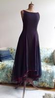 Vintage estélyi ruha koktélruha  szalagavatóra báli ruha koszorúslány ruha asszimmetrikus
