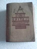 Építési zsebkönyv 1934/35 Dr Möller Károly
