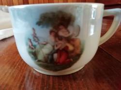 Epiag jelenetes teás csésze