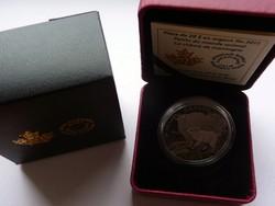 2015 Kanada 20$ Mountain Goat - 1 uncia tiszta ezüst érme - Proof (tükörveretes) kivitel