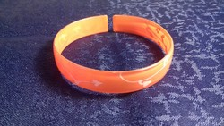 Retro narancssárga karkötő 028