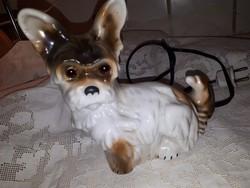 Porcelán kutyus lámpa
