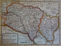 Hungary and Transilvania 1726 (reprint térkép)
