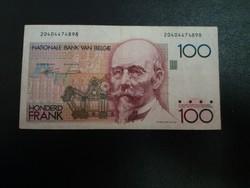 Belgium 100 frank/2.