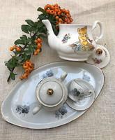 Antik baba porcelán ( tál,csészike és cukortartó) hibátlan