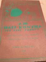 A jó házi konyha c. Receptes könyv 1989-és kiadás