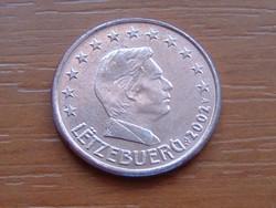 LUXEMBURG 5 EURO CENT 2002