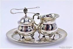 Albert Bodemer ezüst szett